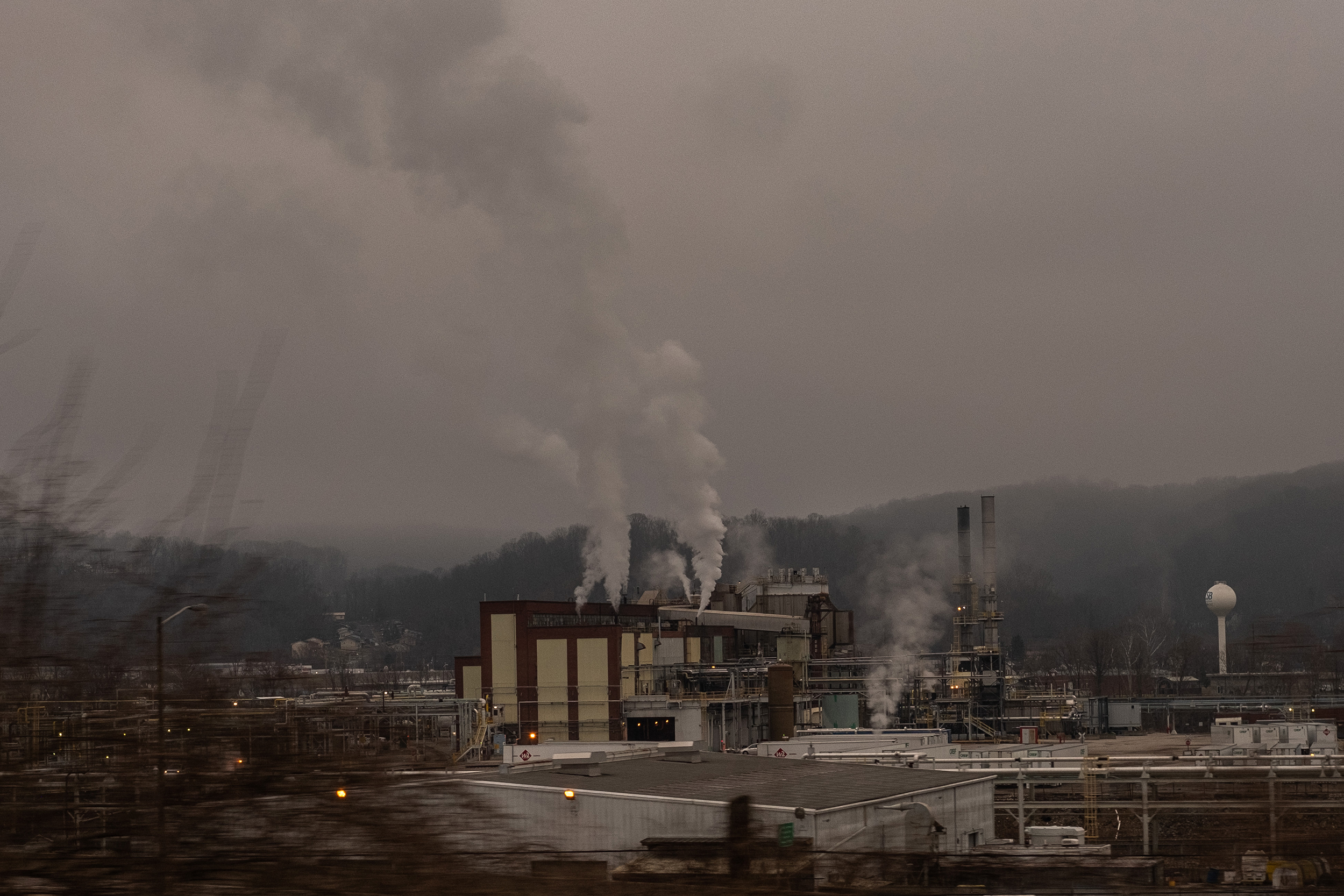 Charleston, West Virginia on the morning of March 17, 2021.